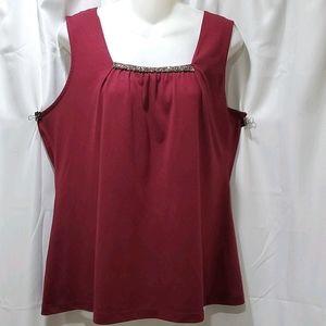 Croft & Barrow sleevless blouse